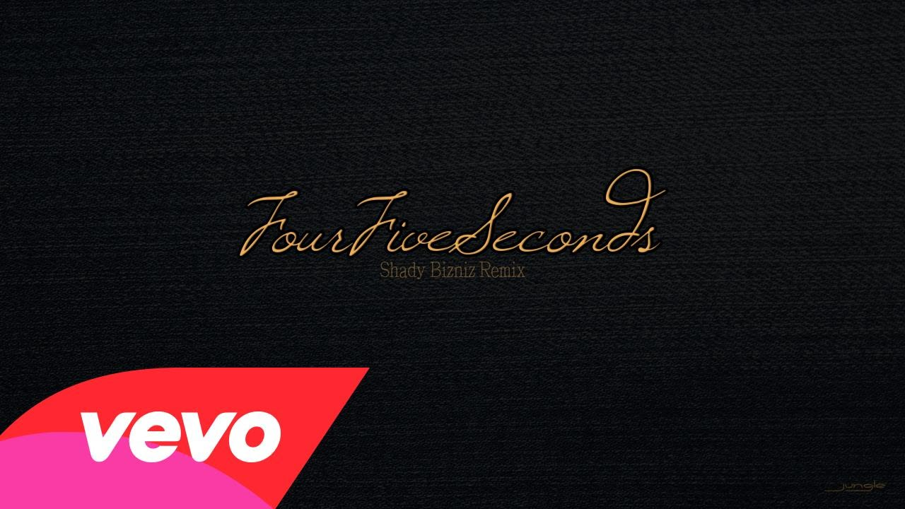 AUDIO: Shady Bizniz – FourFiveSeconds (Remix) ft Rihanna